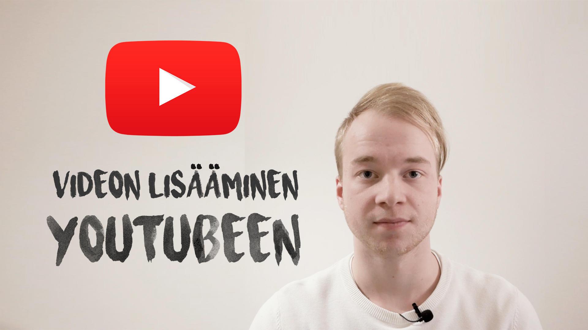 Videon julkaiseminen YouTubeen