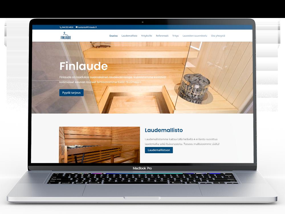 Finlaude-verkkosivut